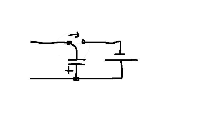 Конденсаторный зарядник - механическое реле